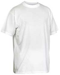 T-Shirt, White Irregular