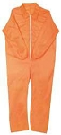 Disposable Coveralls, Orange -Extra Large