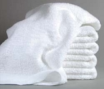 White Washcloths - Budget Grade